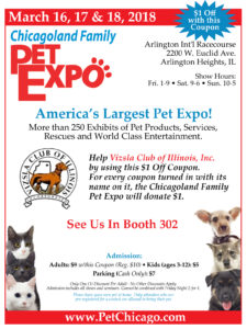 26th Annual Chicagoland Family Pet Expo @ Arlington International Racecourse | Arlington Heights | Illinois | United States