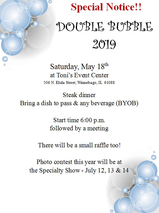 2019 Double Bubble @ Toni's Event Center | Winnebago | Illinois | United States